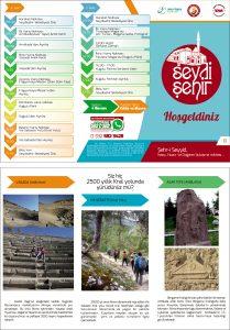 Tınaztepe Mağarası, Ferzene Mağarası, Kuğulu Park, Via Sebaste, Amblada Antik Kenti, Vasada Antik Kenti, Frig Kaya Mezarı